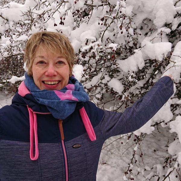 Flügel im Schnee!